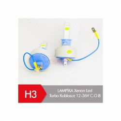 LAMPİKA Xenon H3 Led Turbo Kablosuz
