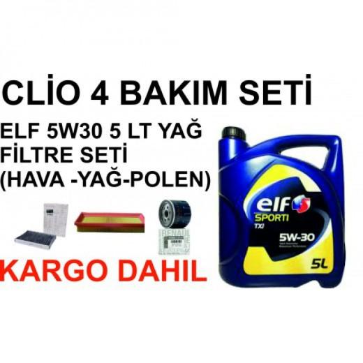 Clio 4 bakım seti