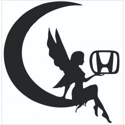 Melek Kelebek camı stiker