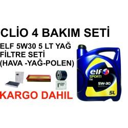 clio 4 bakım seti e3