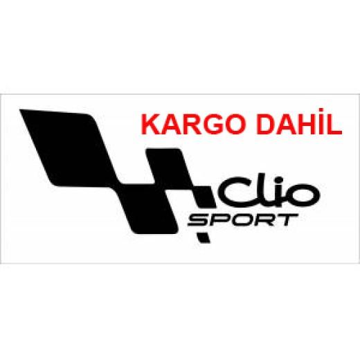 clio sport stiker