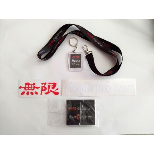 Honda Fd6 Team Sticker Set