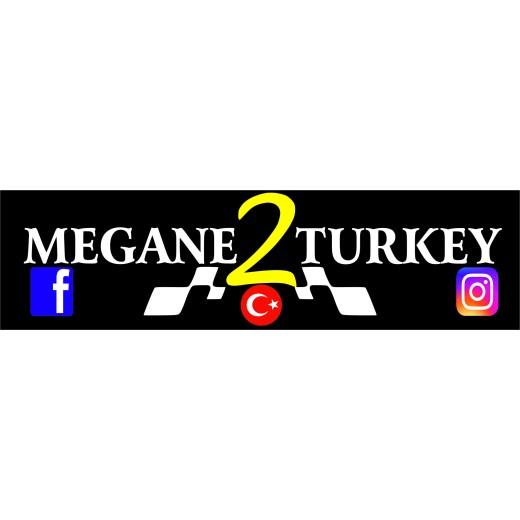 MEGANE 2 TURKEY LOGO STİKER